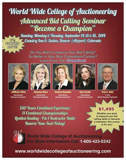 Advanced Bid Calling Denver