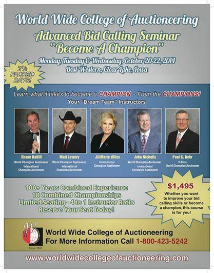 Advanced Bid Calling October