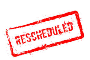 June Class Re-Scheduled Date Announced